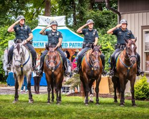 Bethlehem Mounted Police Angels Share Nights