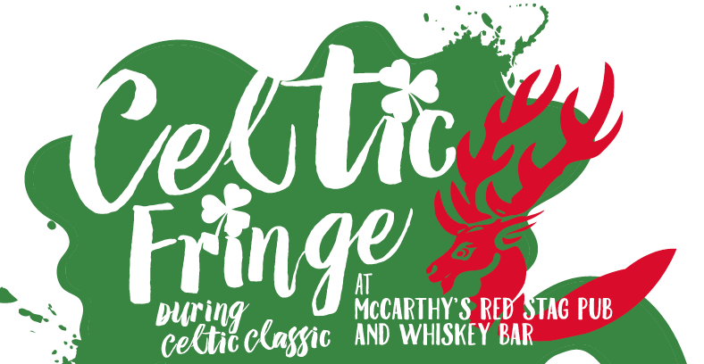 McCarthy's Red Stag Pub's Celtic Fringe happening during the Celtic Classic-September 28-30. On Walnut Street and in the Pub, with food, beer, live music and street games
