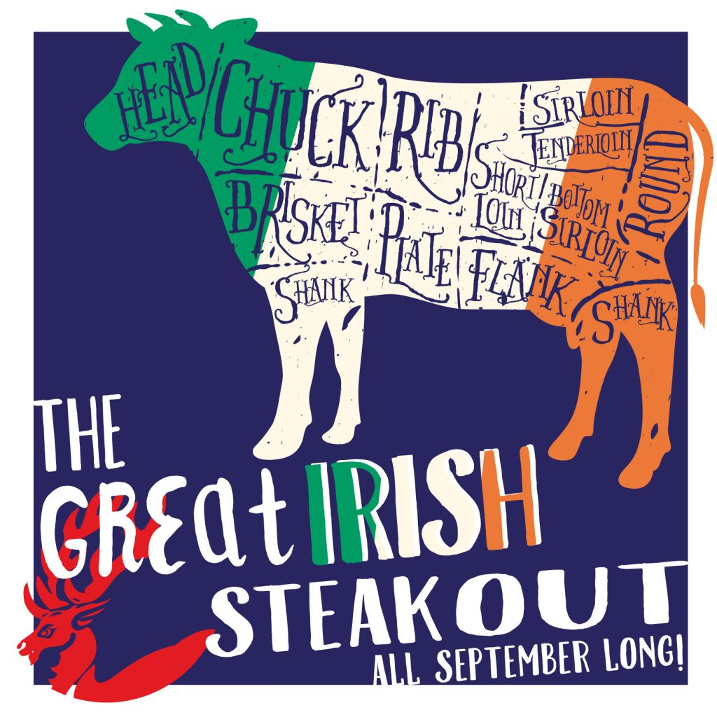 The Great Irish Steak Out promo image.