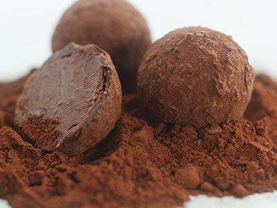 February Baking Demo – Whiskey Chocolate Truffles