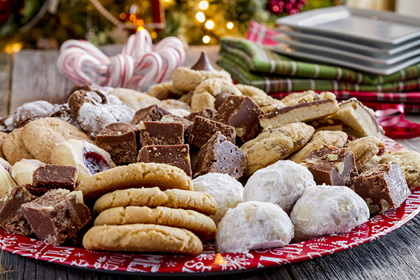 Christmas Cookie Trays.Mccarthy S Christmas Cookie Trays