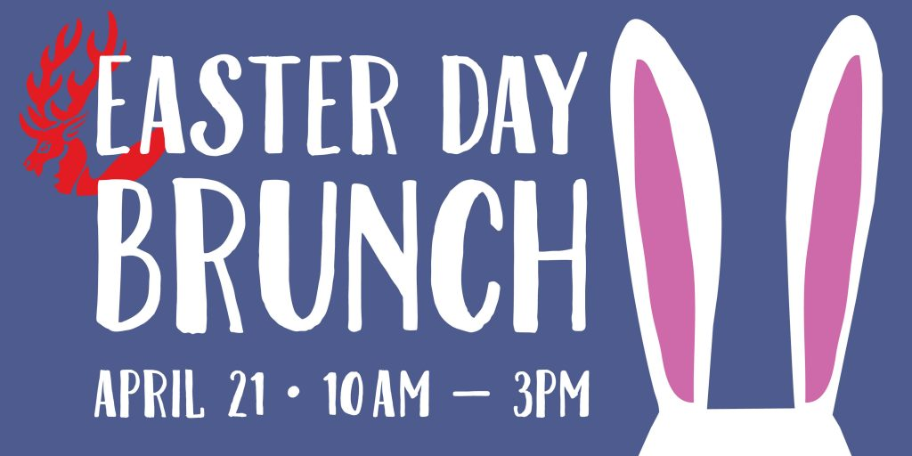 Join us on April 21, from 10am to 3pm for a Easter Day Brunch Buffet at McCarthy's Red Stag Pub and Whiskey Bar, located in historic Downtown Bethlehem, within the Lehigh Valley, Pennsylvania. Featuring a delicious Celtic brunch selection.