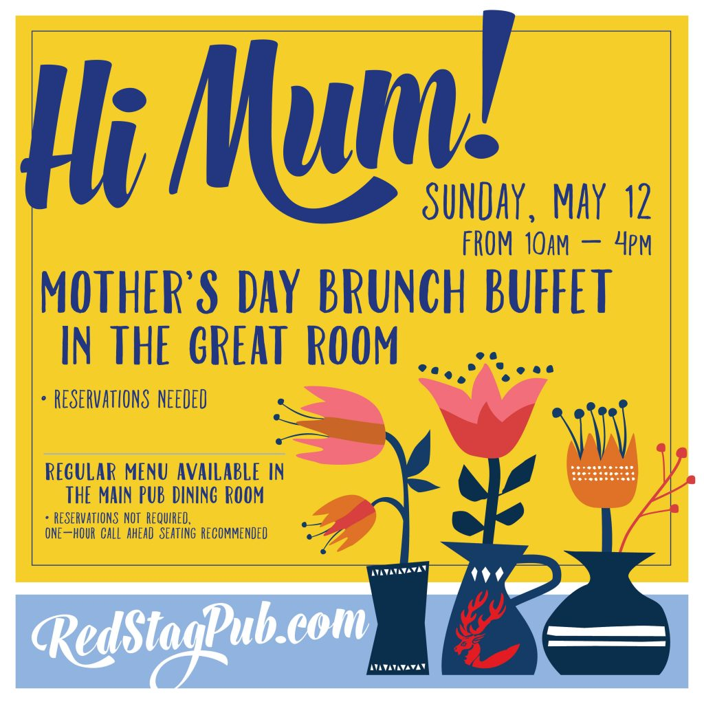 Mother's Day Brunch Buffet – SOLD OUT!!! SOLD OUT!!