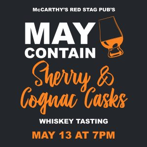 May Contain Sherry & Cognac Casks Whiskey Tasting